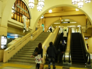 kobe hankyu sannomiya station