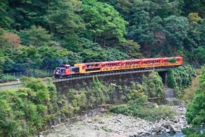 kyoto sagano romantic train